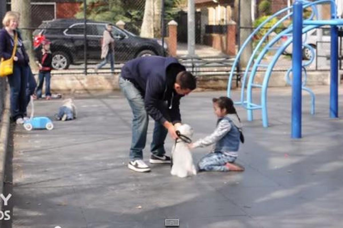 Δείτε αυτό το βίντεο αν θέλετε να προστατέψτε το παιδί σας από τους επιτήδειους απαγωγείς