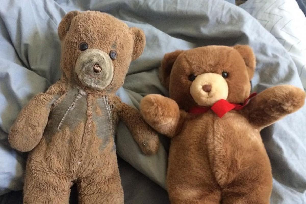 Δυο ίδια αρκουδάκια περνούν από γενιά σε γενιά