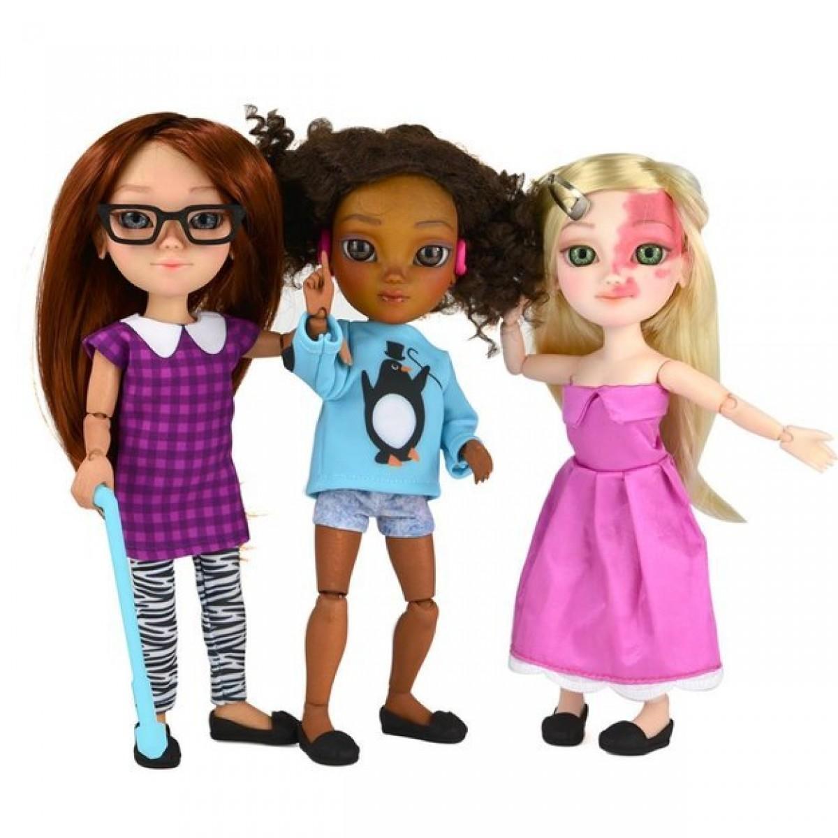 Αυτή η εταιρεία φτιάχνει κούκλες με αναπηρίες