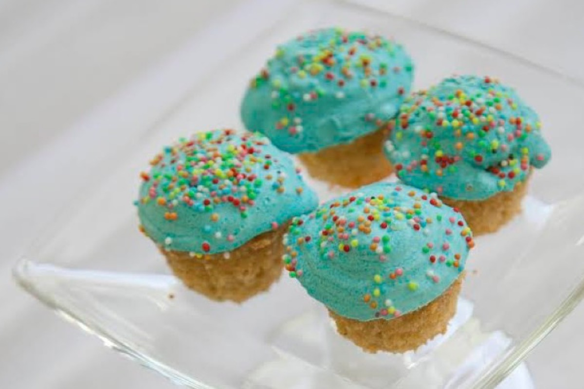 Τα νοστιμότερα cupcakes γενεθλίων
