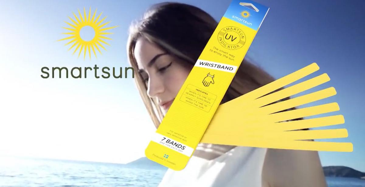 Απολαμβάνουμε τον ήλιο με ασφάλεια με το έξυπνο βραχιολάκι Smartsun!