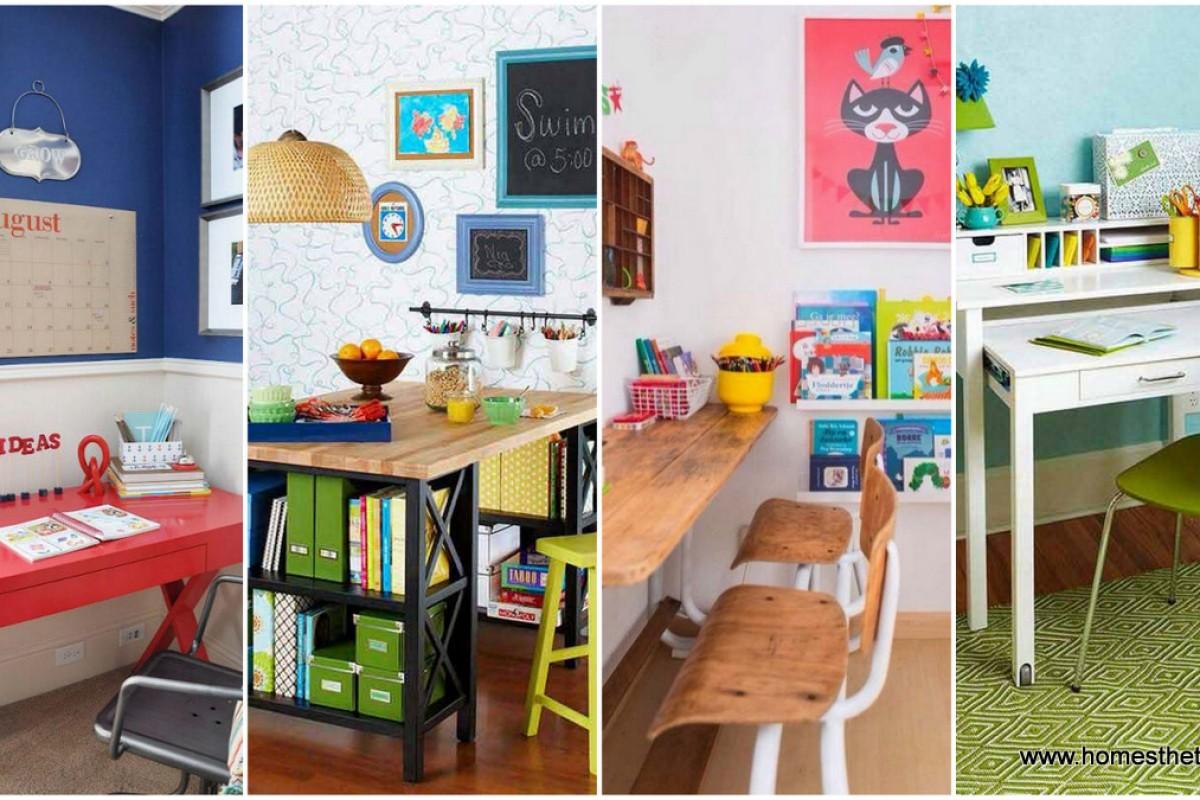 24 δημιουργικές ιδέες για να διακοσμήσετε το γραφείο του
