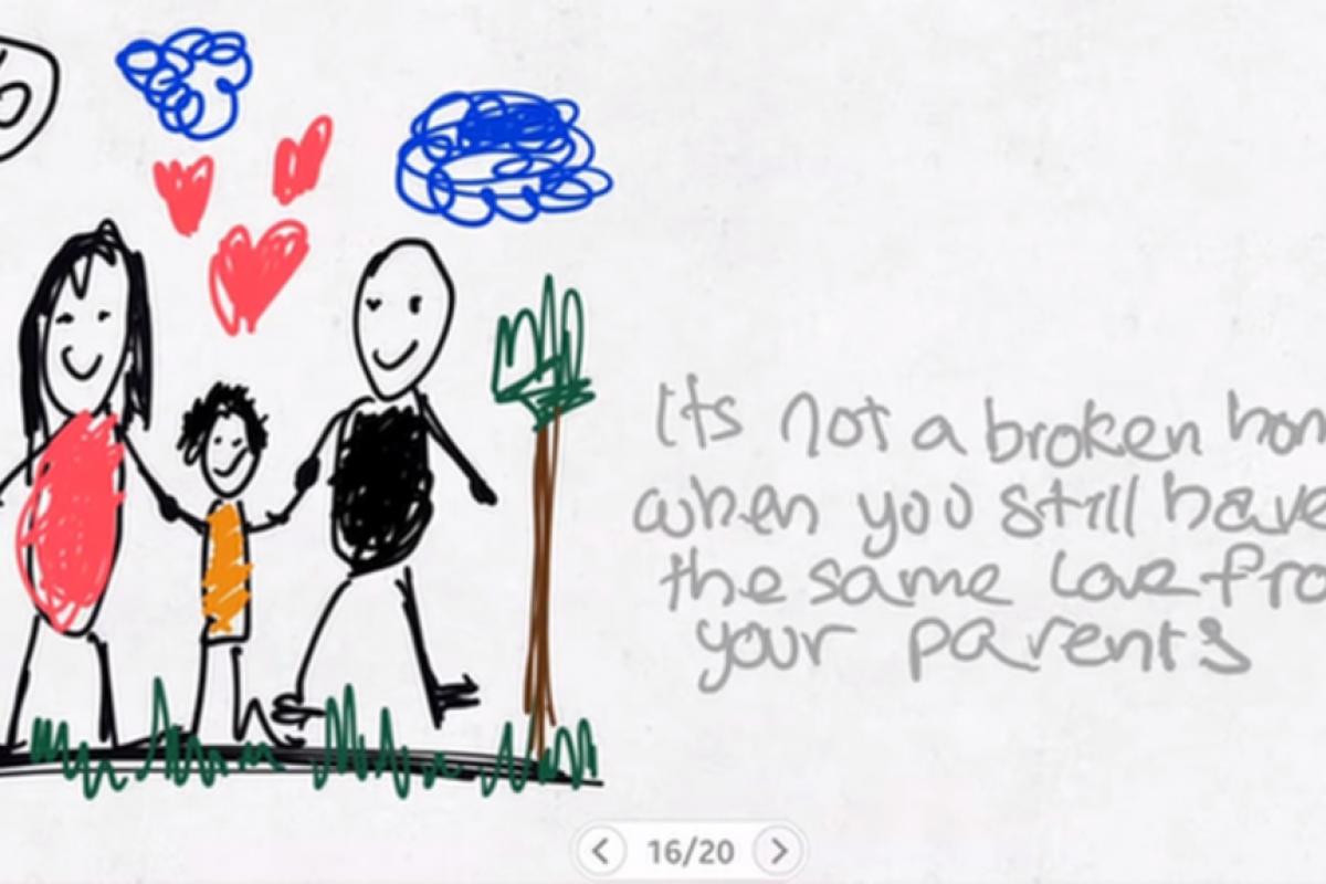 Ένα 9χρονο αγόρι εξηγεί πώς αισθάνεται που είναι παιδί χωρισμένων γονιών