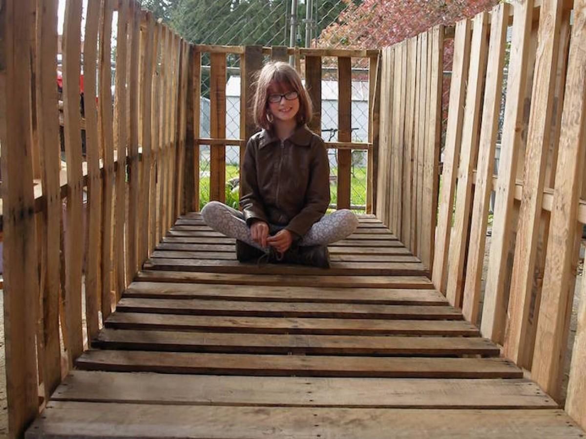 9χρονη ακτιβίστρια φτιάχνει σπίτια για αστέγους
