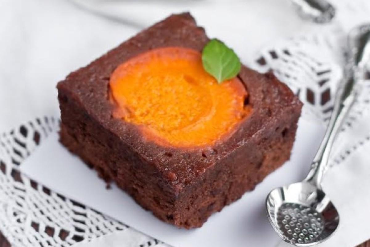 Brownies σοκολάτας με βερίκοκο!