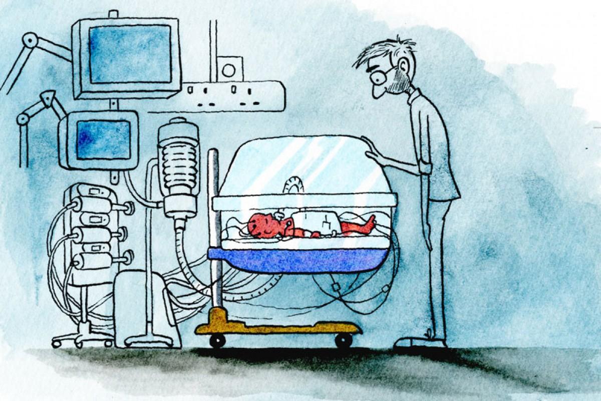 Ένας εικονογράφος εξιστορεί την ιδιαίτερη εμπειρία του από την πατρότητα σε ένα συγκινητικό βίντεο
