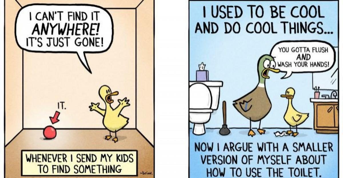 Η εμπειρία του να μεγαλώνεις ένα παιδί σε 10 ξεκαρδιστικά σκιτσάκια