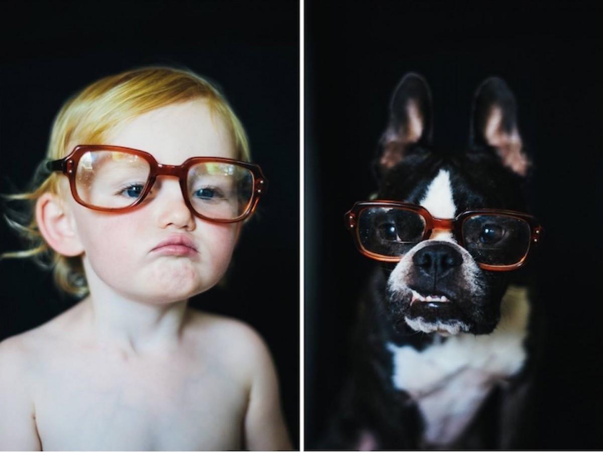 [Φωτογραφίες] Σκυλάκι, κάνε ό,τι κάνω!
