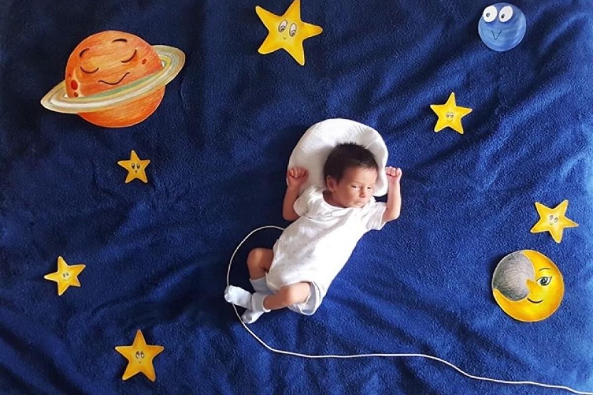 Όσο ο μπέμπης κοιμάται, η μαμά δημιουργεί