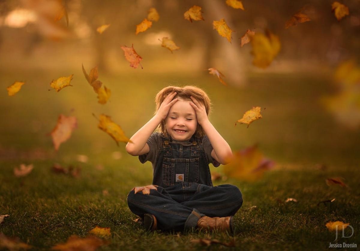 Οι μαγικές φθινοπωρινές στιγμές που έζησα με τα παιδιά μου