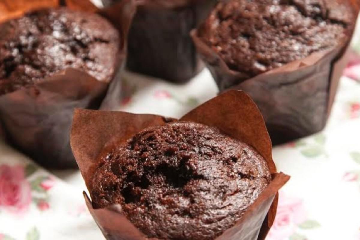 Σοκολατένια μάφινς, ιδανικά για πάρτυ!