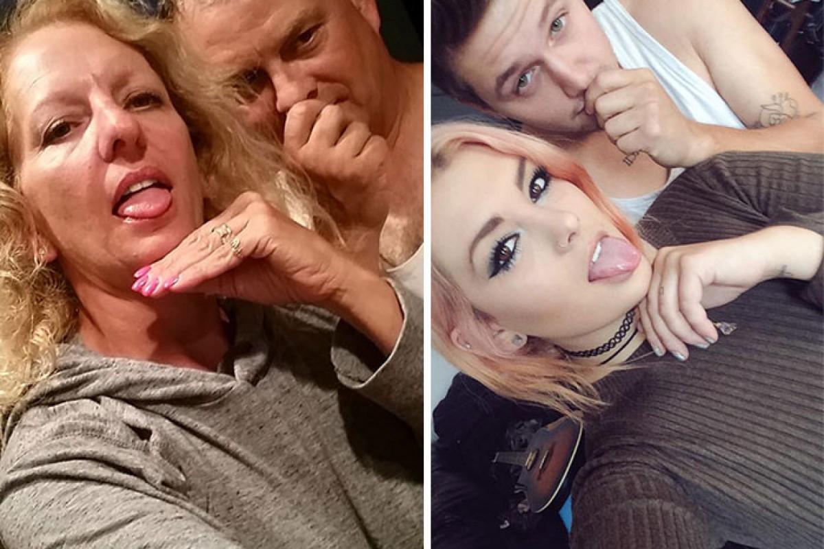 Γονείς πειράζουν την κόρη τους βγάζοντας τις ίδιες selfies με εκείνη