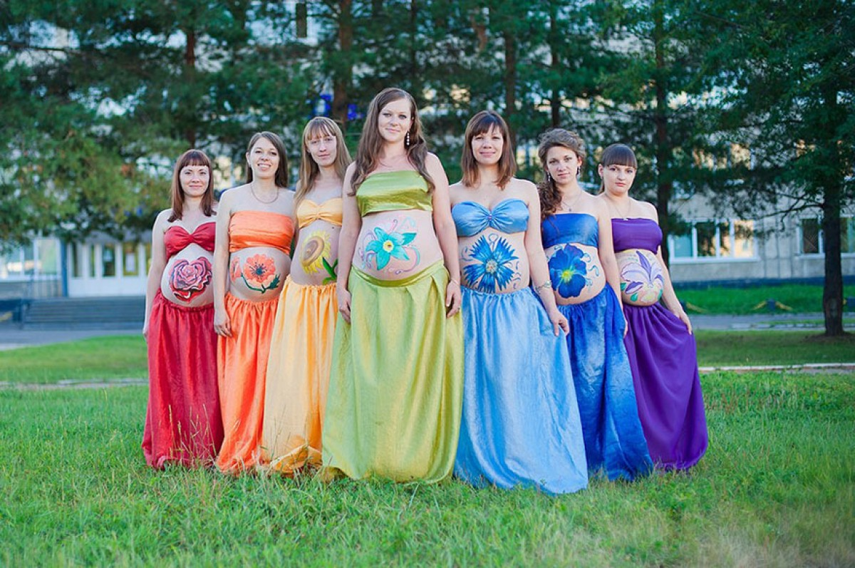 Τα μωρά του ουράνιου τόξου: Μια φωτογράφιση που δίνει ελπίδα στις μαμάδες που στο παρελθόν έχασαν το μωρό τους
