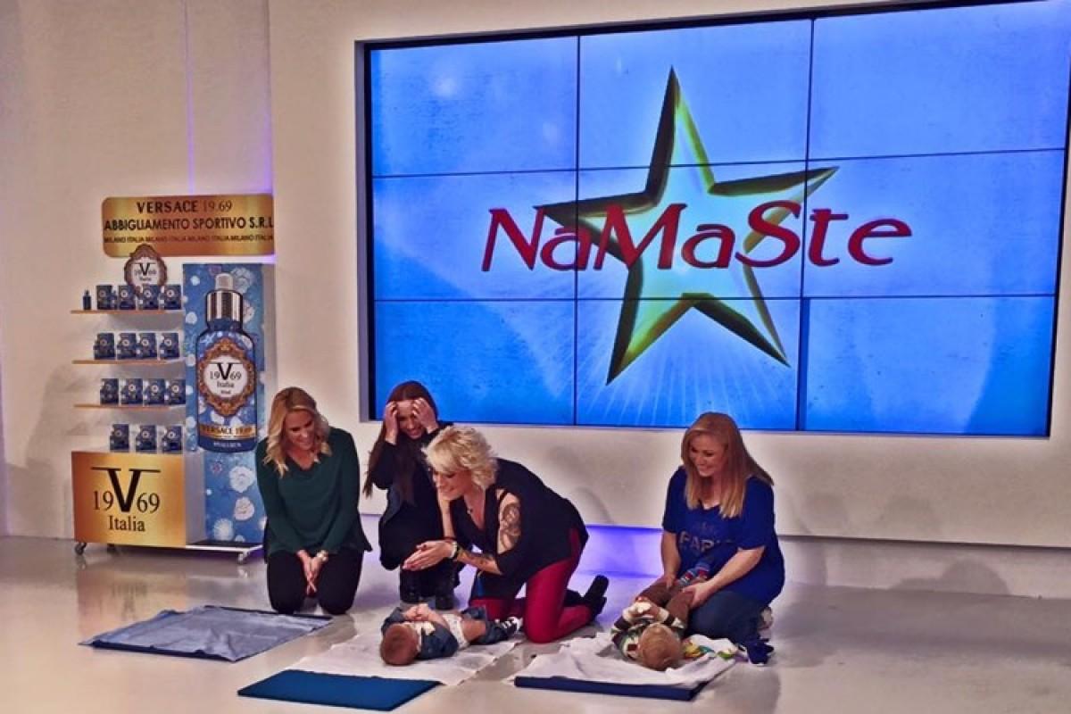 Βίντεο: Μιλήσαμε για το baby massage στο Namaste της Ναταλίας Γερμανού!