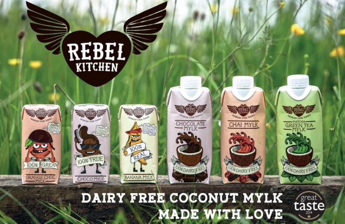 ΕΛΗΞΕ: Κερδίστε τα επαναστατικά ροφήματα καρύδας Rebel Mylk!