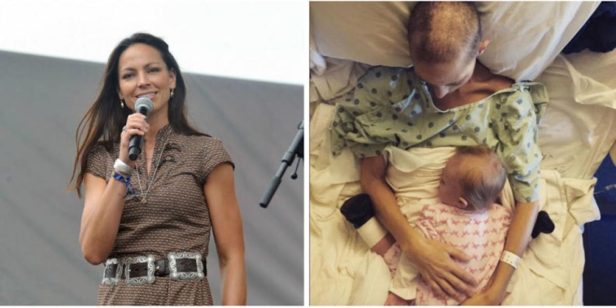 Μια τραγουδίστρια της country περνά τις τελευταίες μέρες της ζωής της κρατώντας την κόρη της σφιχτά στην αγκαλιά της