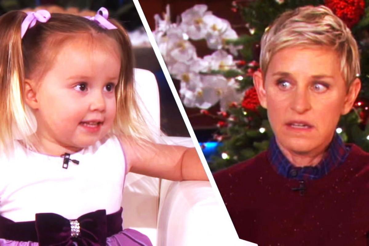 Απολαύστε την 3χρονη που άφησε άφωνη την Ellen με τις απίθανες γνώσεις της