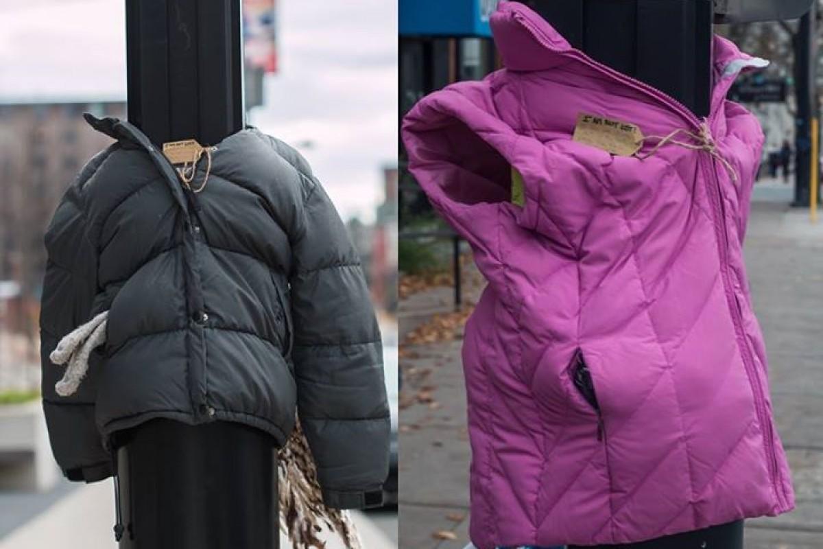 Μπορείτε να φανταστείτε τι γυρεύουν αυτά τα μπουφάν έξω στον δρόμο;