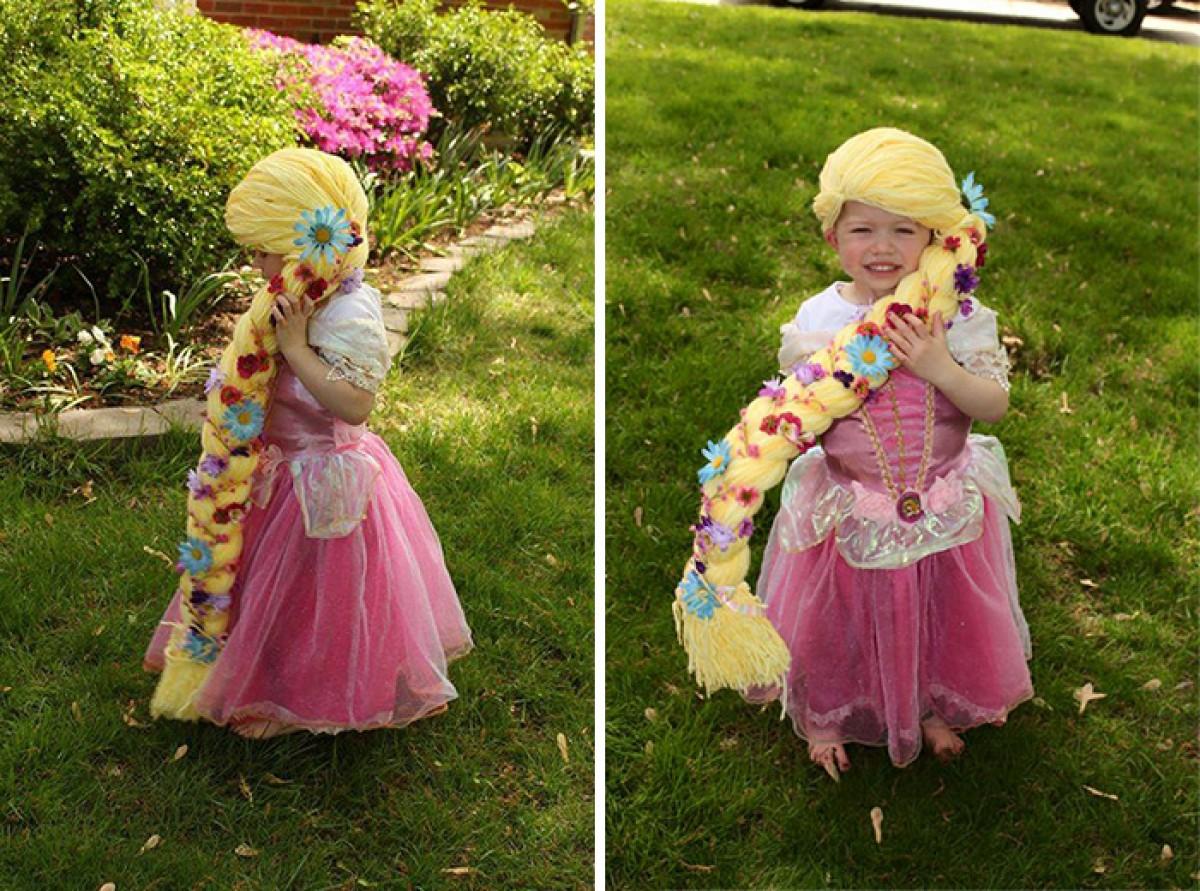 Μαμά πλέκει περούκες εμπνευσμένες από πριγκίπισσες της Ντίσνεϊ για παιδιά με καρκίνο