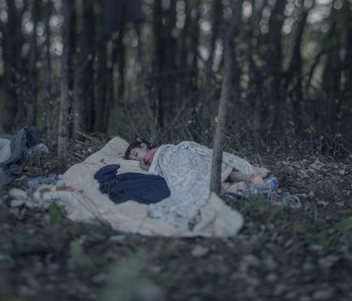 Εκεί όπου κοιμούνται τα προσφυγόπουλα της Συρίας…
