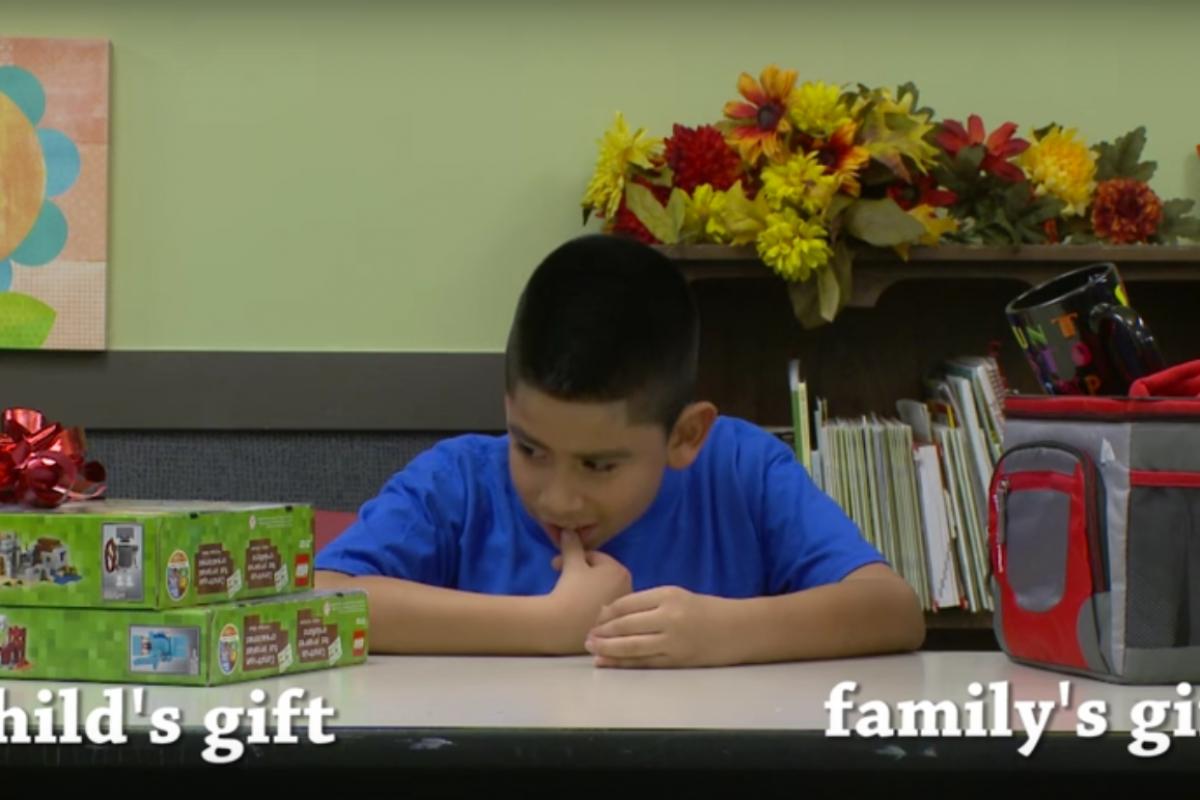 Δώρα για τα ίδια ή για την οικογένειά τους; Δείτε τι διάλεξαν αυτά τα παιδιά