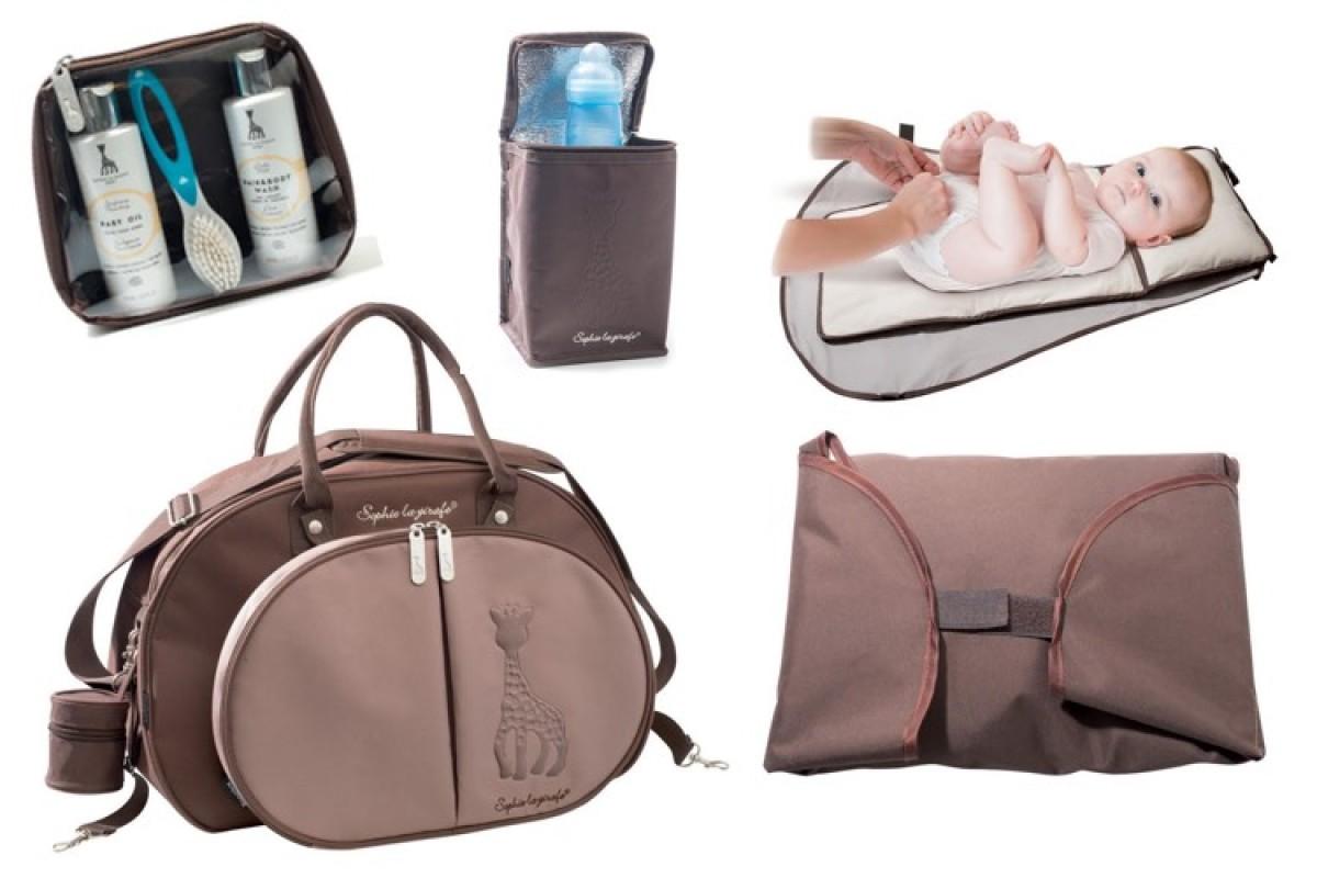 Η φανταστική τσάντα αλλαξιέρα της Σόφι της Καμηλοπάρδαλης έχει όλα όσα χρειάζεσαι!