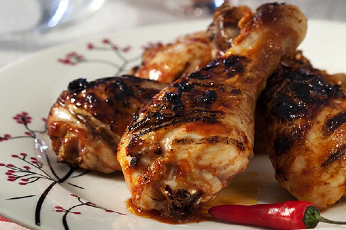 Μπουτάκια κοτόπουλο με Bloody Mary