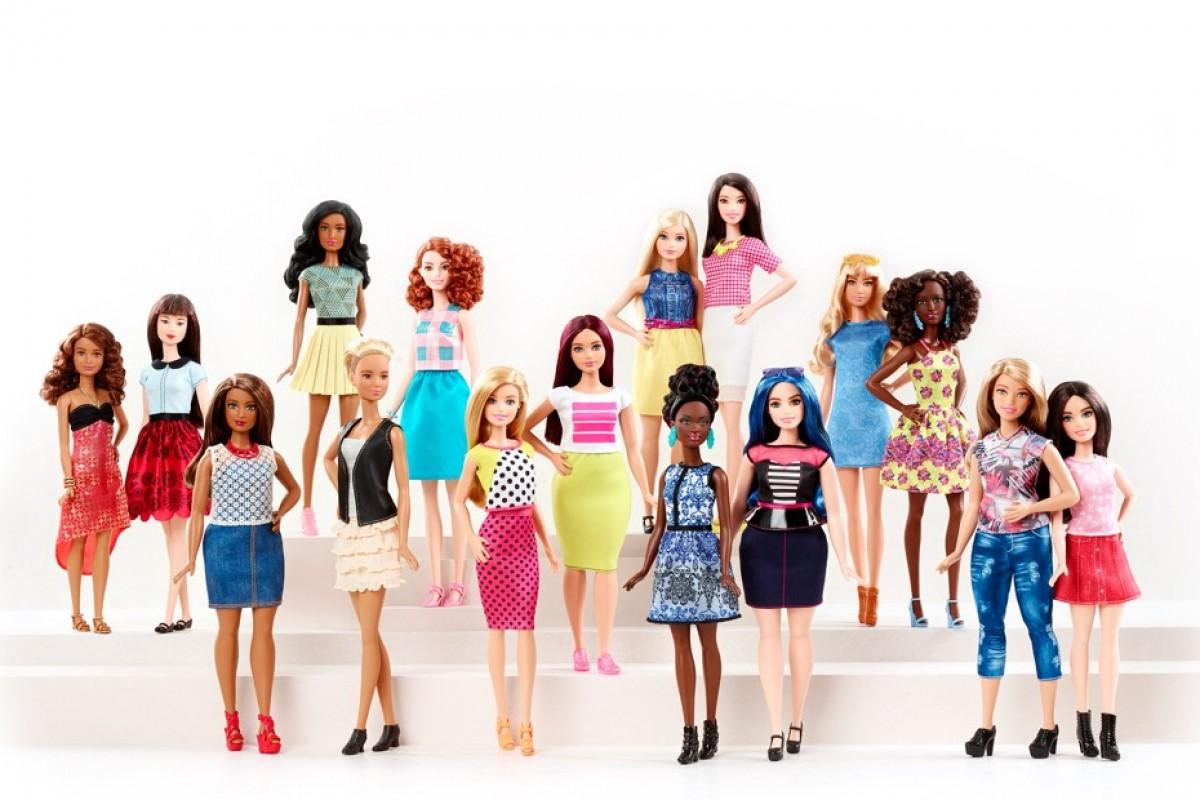 Η Barbie® διευρύνει τη σειρά Fashionistas® με τρεις νέους σωματότυπους!