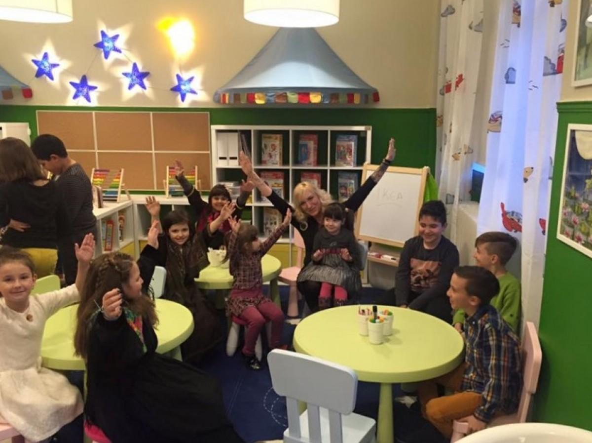 Μια υπέροχη βιβλιοθήκη για τα παιδιά και τους νέους του Βαρικού!