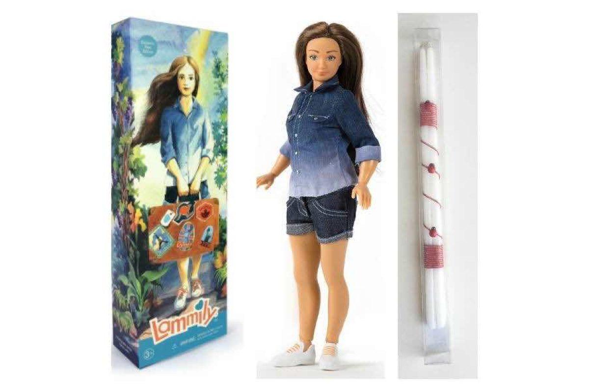 Φέτος το Πάσχα η κούκλα Lammily έρχεται παρέα με την λαμπάδα!