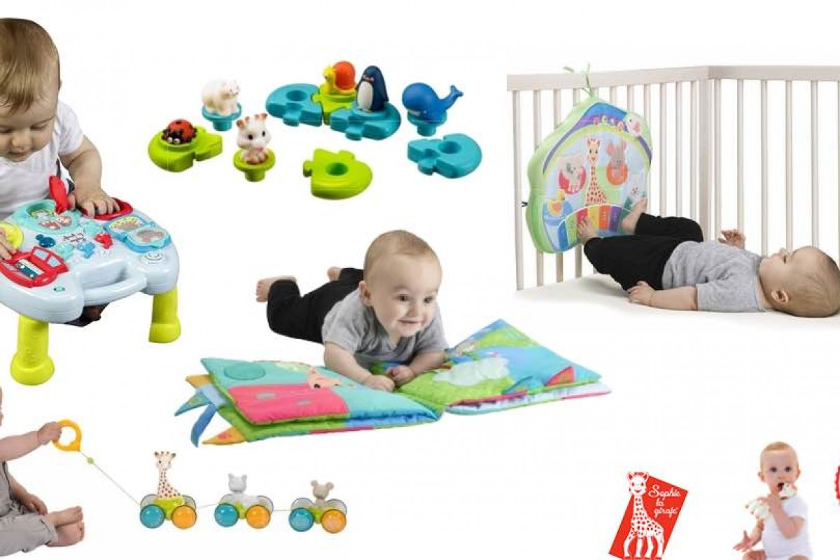 5 παιχνίδια με τη Σόφι την Καμηλοπάρδαλη που θα λατρέψει το μωρό σου!