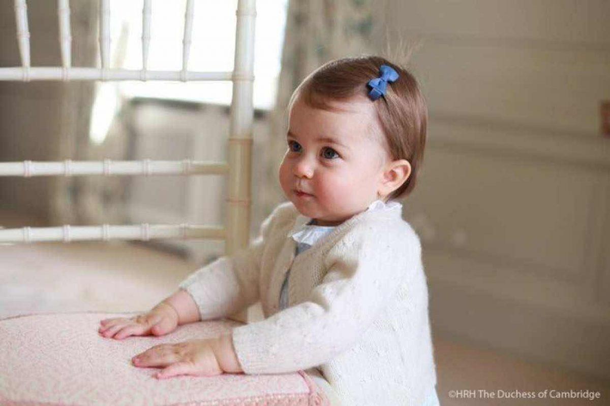 H πριγκίπισσα Σάρλοτ είναι μια γλύκα!