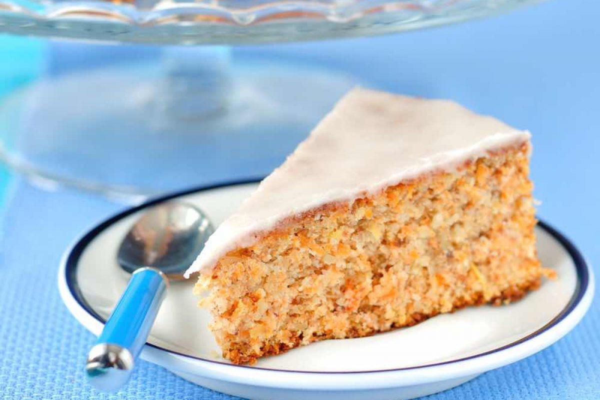 Κέικ καρότου χωρίς μίξερ!