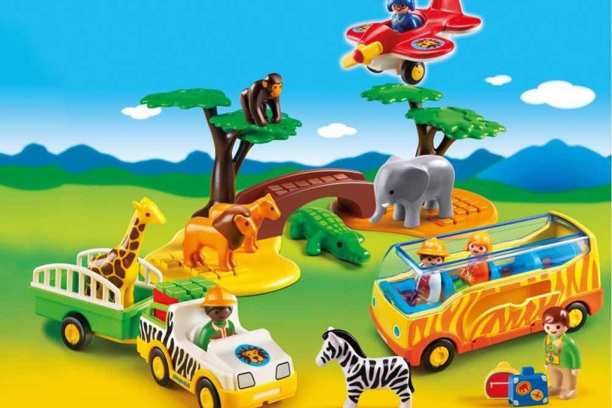 PLAYMOBIL 1.2.3 | Μια πολύχρωμη, διασκεδαστική σειρά PLAYMOBIL για παιδάκια από 1.5 ετών!