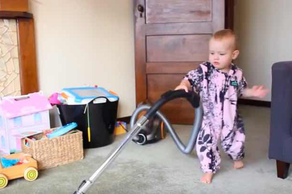 Πώς να πείσεις το μωρό σου να καθαρίσει το σπίτι!