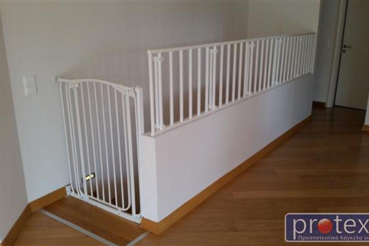 Οι σκάλες και το εσωτερικό του σπιτιού γίνονται ασφαλείς χάρη στα σούπερ κάγκελα Protex!