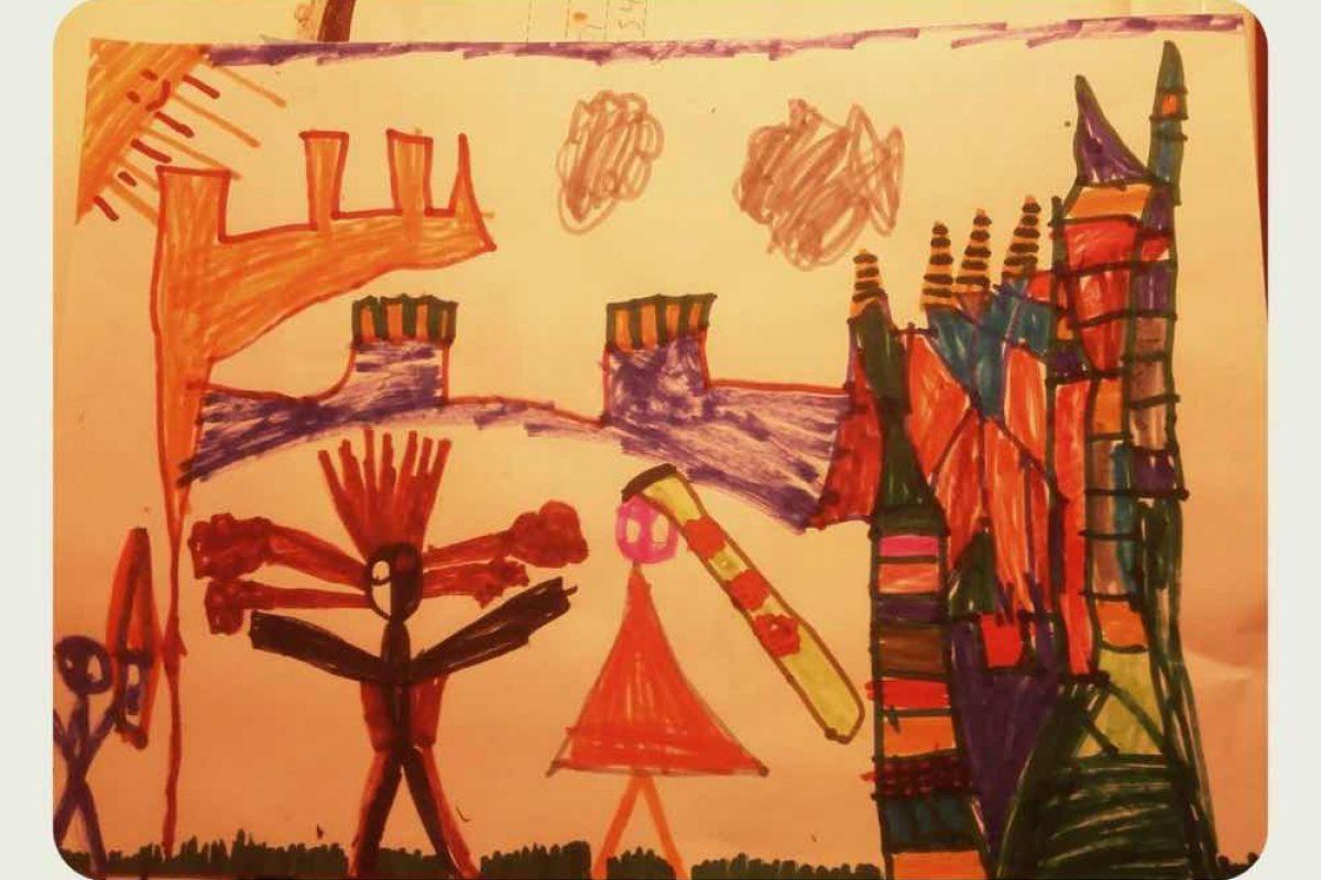 Έκθεση παιδικής ζωγραφικής  « Τα 932 πορτρέτα της παράστασης 'ΒατΡαπουνζέλ' »