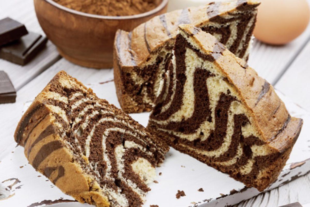 Φανταστικό κέικ ζέβρα