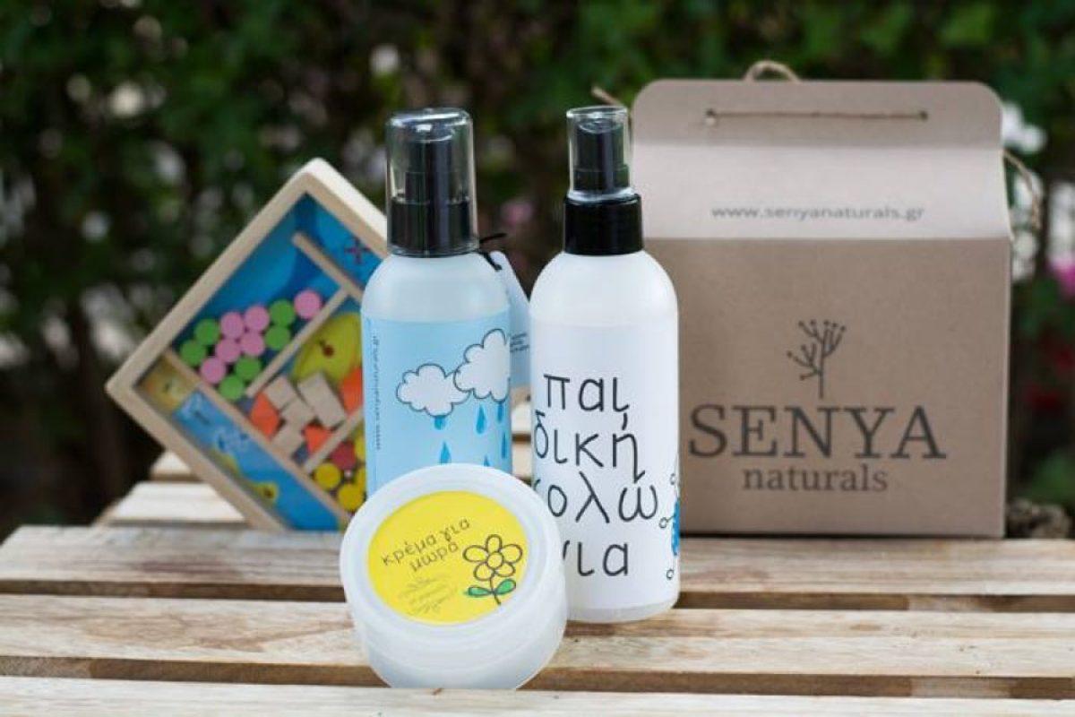SENYA | Μια ελληνίδα μαμά φτιάχνει τα πιο αγνά καλλυντικά για εμάς και τα παιδιά μας!