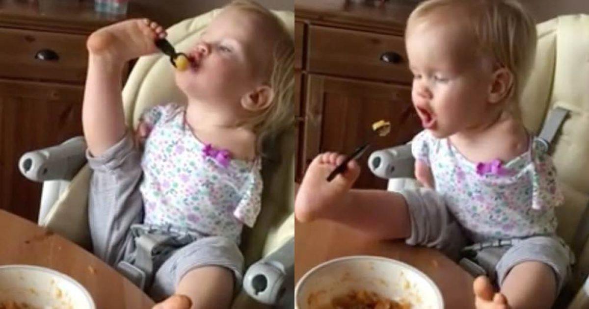 Αυτή η μικρούλα δίνει μαθήματα ζωής!
