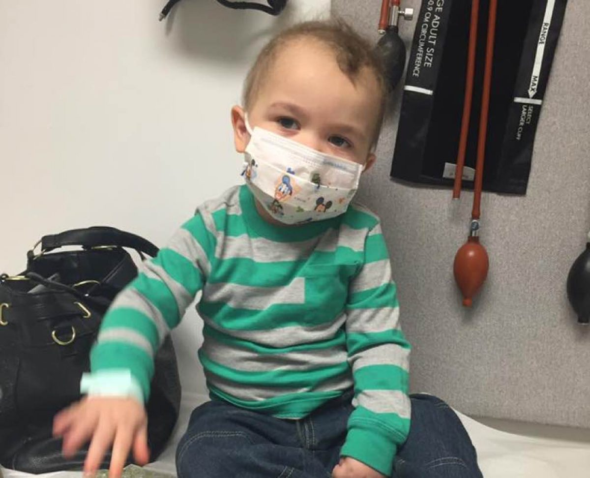 Αυτός ο μικρούλης πήρε την καρδιά που χρειαζόταν!