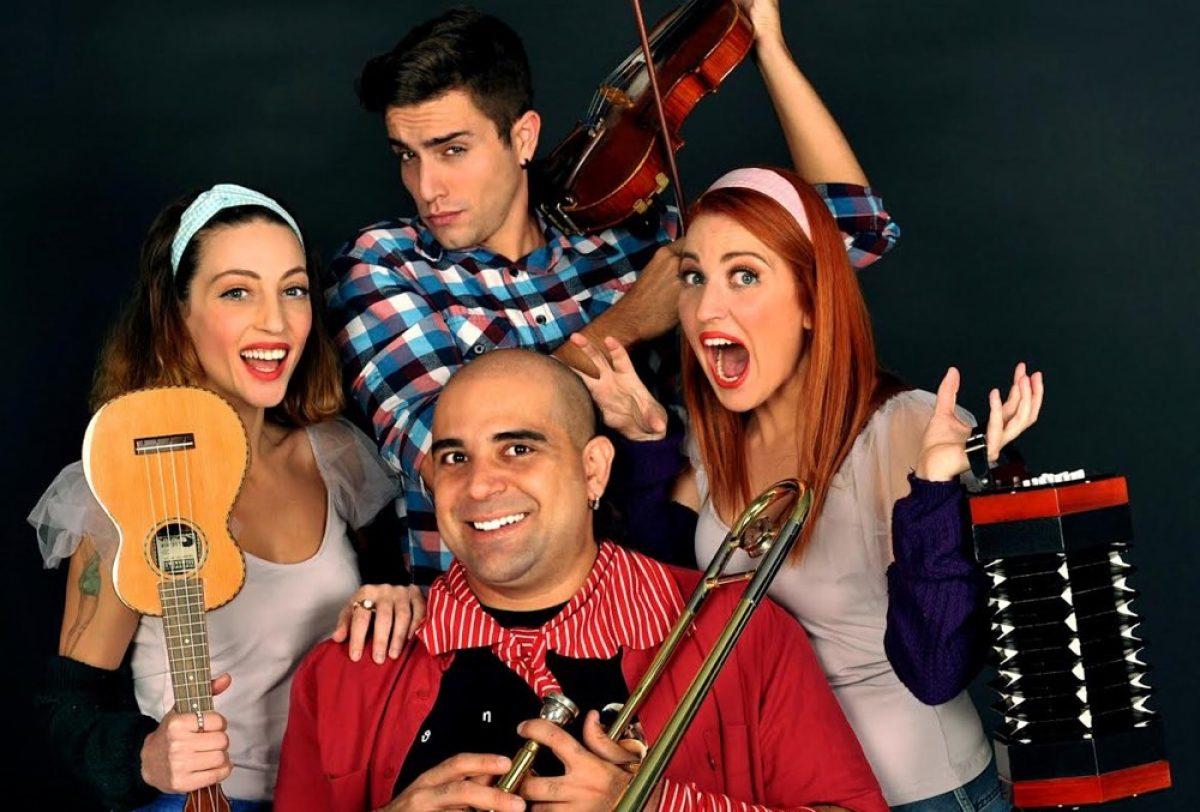 «Η Τρελή τρελή Αλφαβήτα 2 με τον Άνθρωπο-Ορχήστρα» στο θέατρο Coronet!