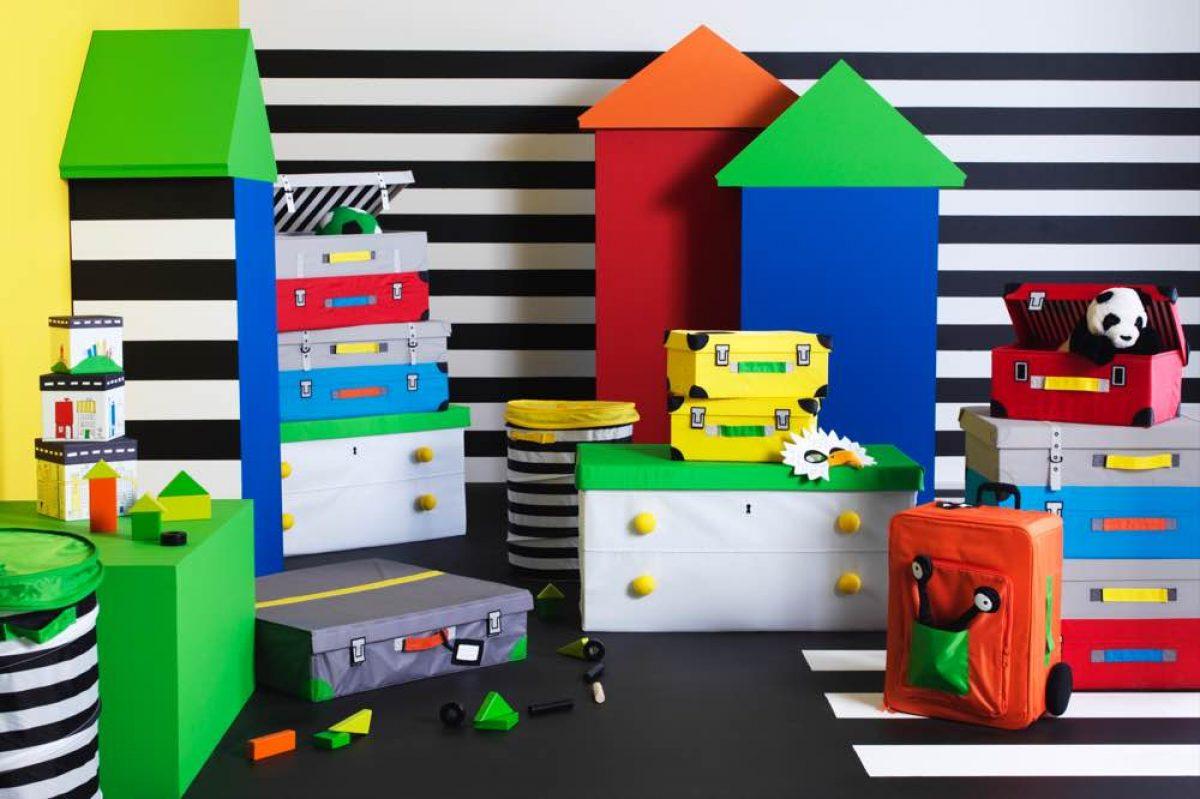 Οργανώστε το παιδικό δωμάτιο με τα πιο χαρούμενα κουτιά αποθήκευσης!