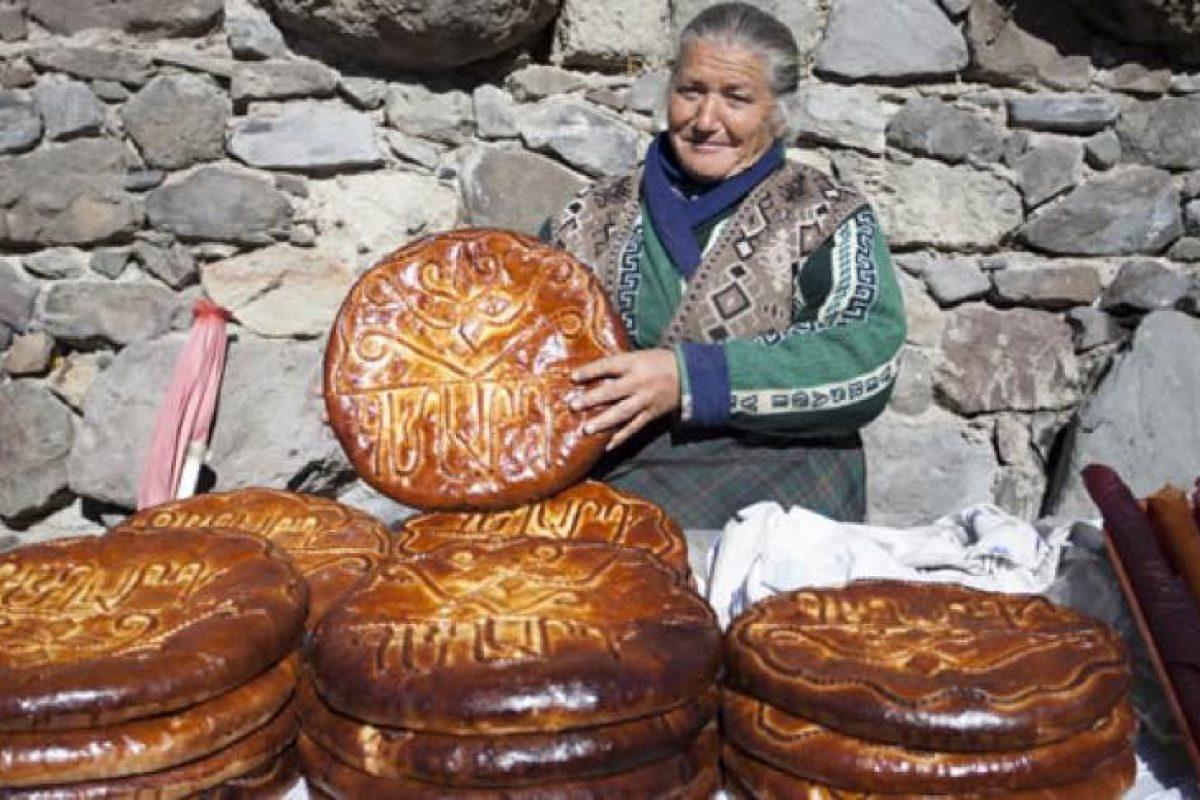 Αρμένικο γλυκό ψωμί Χριστουγέννων
