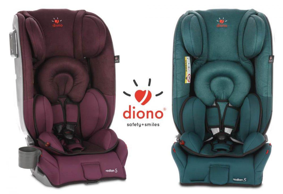 ΕΛΗΞΕ: Κερδίστε ένα κάθισμα αυτοκινήτου Radian 5 της Diono!