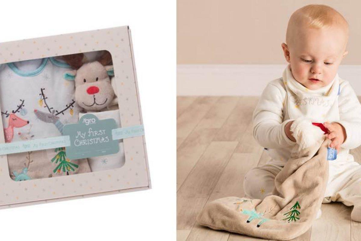 Ένα χουχουλιάρικο εορταστικό σετ για τα πρώτα Χριστούγεννα του μωρού σας!