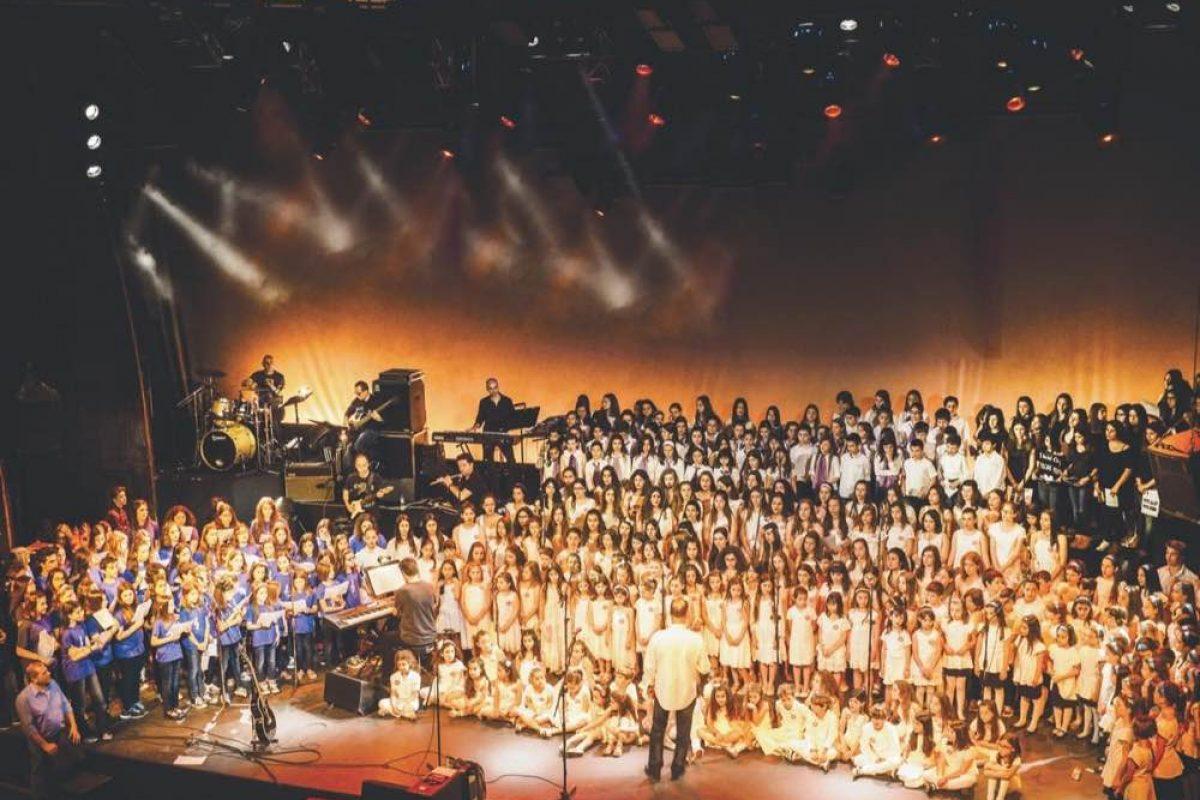 «Μικρά παιδιά Μεγάλα όνειρα» | 500 παιδιά στη σκηνή με την Ελευθερία Αρβανιτάκη!