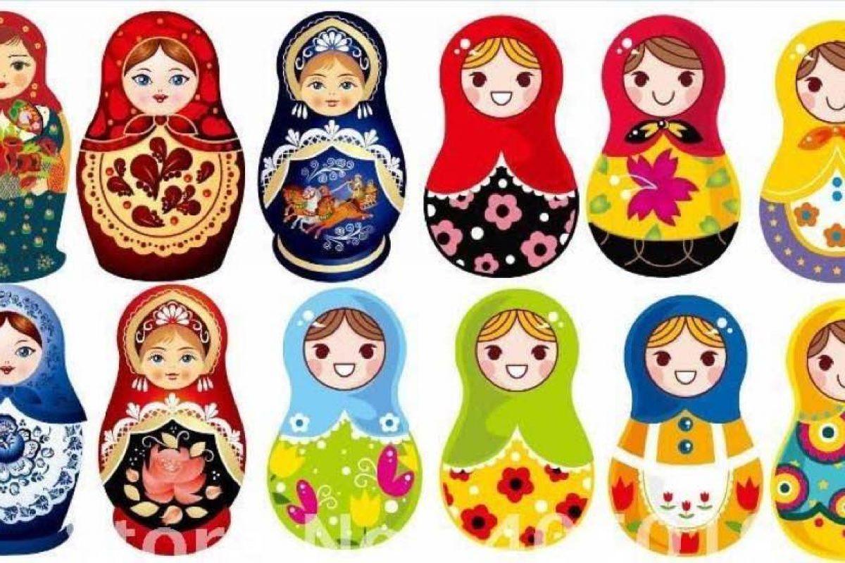 Εργαστήριο Δημιουργικής Ζωγραφικής «Ματριόσκα, η τυχερή κούκλα από τη Ρωσία»