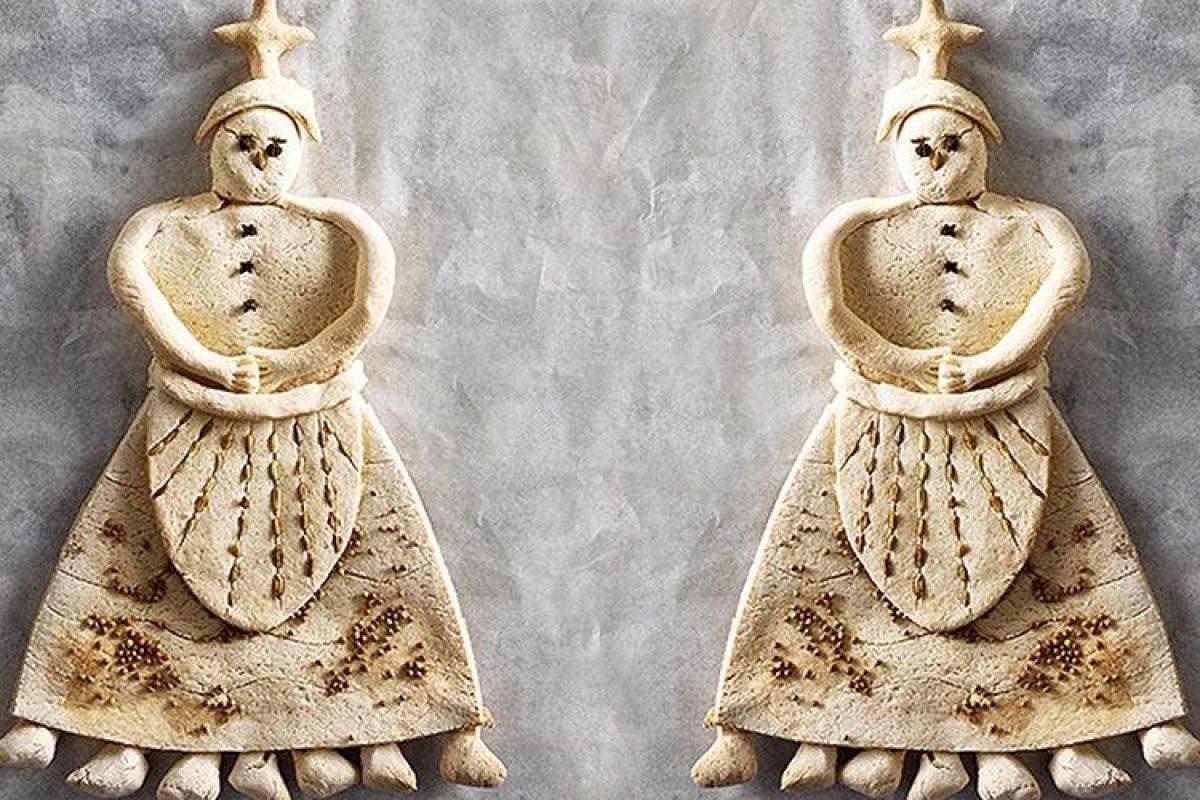 Φτιάχνουμε την Κυρά Σαρακοστή με αλατοζύμη