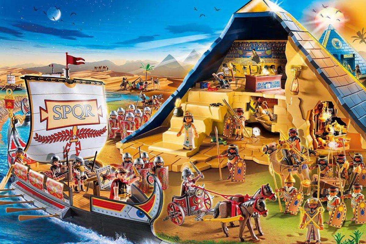 Νέοι Ρωμαίοι & Αιγύπτιοι από την PLAYMOBIL!